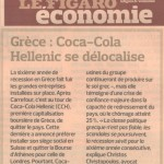 Coca-Cola leaves Greece - Le Figaro Economie